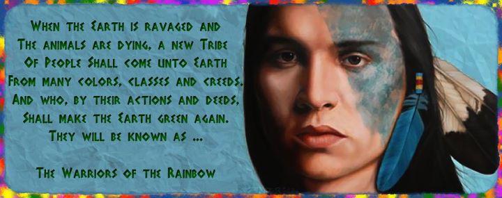Native american indian meditation